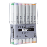 Copic Sketch Set de 12 (EX-3)