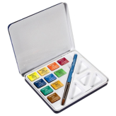 Daler Rowney Aquafine Mini Travel (Set de 10 Colores)