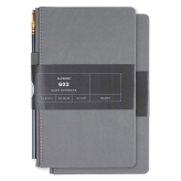 Palomino Blackwing 602 Slate Journal (13 x 21cm) - 160 Hojas de 100 gsm (Disponible en 2 Modelos)