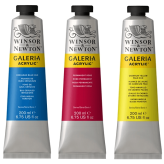 Winsor & Newton Galeria Acrilico 200ml (25 Colores)