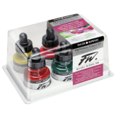 Daler Rowney FW Artist Ink - Primary Colors 30ml (Set de 6)