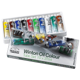 Winsor & Newton Winton Set de Oleos (10 Tubos x 37ml)