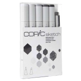 Copic Sketch Set de 6 - Sketching Grays