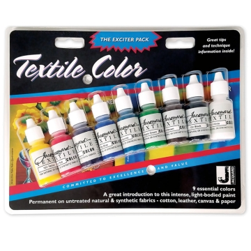 Jacquard Textile Color - Exciter Pack 15ml (Set de 9 Colores)