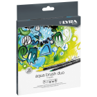 Lyra Aqua Brush Duo  - Set  de 12 Marcadores