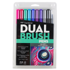 Tombow Dual Brush Pens Paleta Galaxy - Set de 10 marcadores