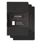 Palomino Blackwing Clutch Libreta Set de 3 (8,9 x 14cm) - 48 Hojas de 100 gsm (Disponible en 2 Modelos)