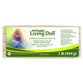 Super Sculpey Living Doll Light - 1 lb (454 g)