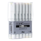 Copic Sketch Set de 12 (EX-4)