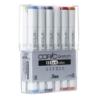 Copic Sketch Set de 12 (EX-6)