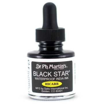 Dr. Ph. Martin's Tinta Black Star (Hi-Carb) 30ml