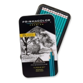 Prismacolor Premier Turquoise Sketching pencils(Lápices Grafito) - Set de 12