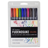 Tombow Fudenosuke Colors - Set de 10
