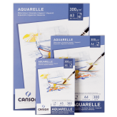 Canson Aquarelle Pad 300 Gsm (Disponible en 3 medidas)