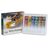 Winsor & Newton Winton Set de 6 Oleos (21ml)