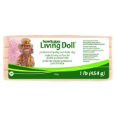 Super Sculpey Living Doll Beige - 1 lb (454 g)