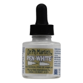 Dr. Ph. Martin's Pen White (Tinta blanca) 30ml