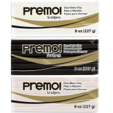 Premo! Sculpey & Accents 8 oz (227 g) - (Disponible en 3 Colores)